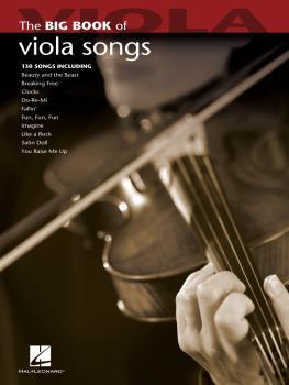 Big Book of Viola Songs (HL-00842215)