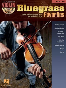 Bluegrass Favorites: Violin Play-Along Volume 10 (HL-00842232)
