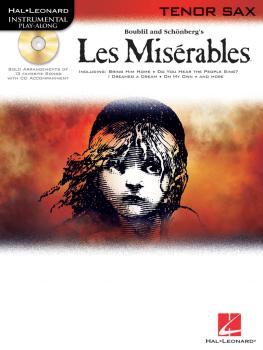 Les Misérables: Tenor Sax Play-Along Pack (HL-00842295)