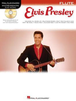 Elvis Presley: Instrumental Play-Along Book/CD Pack (HL-00842363)