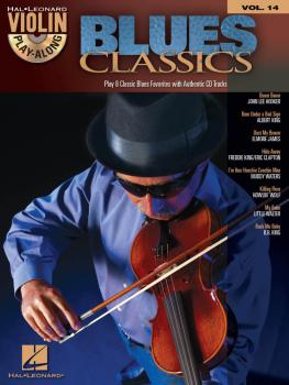 Blues Classics: Violin Play-Along Volume 14 (HL-00842427)