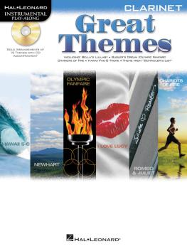 Great Themes: Instrumental Play-Along for Clarinet (HL-00842469)