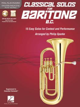 Classical Solos for Baritone B.C.: 15 Easy Solos for Contest and Perfo (HL-00842551)
