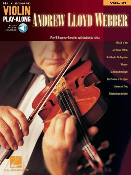 Andrew Lloyd Webber: Violin Play-Along Volume 21 (HL-00842566)