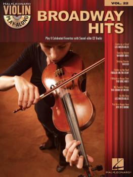 Broadway Hits: Violin Play-Along Volume 22 (HL-00842567)