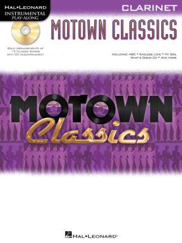 Motown Classics - Instrumental Play-Along Series (Clarinet) (HL-00842573)