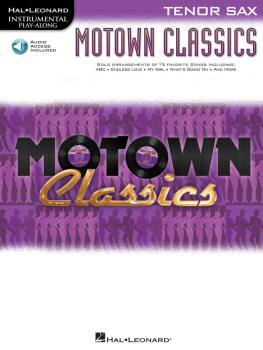 Motown Classics - Instrumental Play-Along Series (Tenor Saxophone) (HL-00842575)