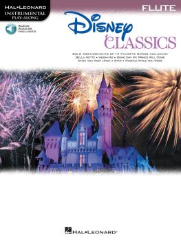 Disney Classics (for Flute Instrumental Play-Along Pack) (HL-00842626)