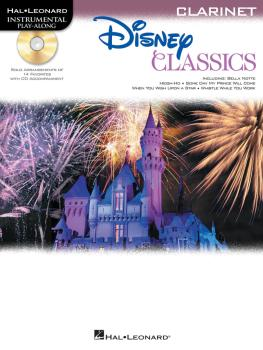 Disney Classics (for Clarinet Instrumental Play-Along Pack) (HL-00842627)