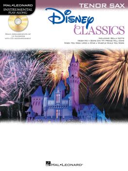 Disney Classics (for Tenor Sax Instrumental Play-Along Pack) (HL-00842629)