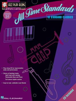 All Time Standards: Jazz Play-Along Volume 34 (HL-00843030)