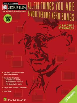 All the Things You Are & More: Jerome Kern Songs: Jazz Play-Along Volu (HL-00843035)
