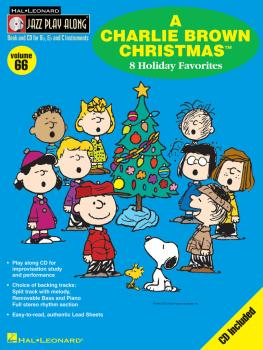 A Charlie Brown Christmas: Jazz Play-Along Volume 66 (HL-00843067)