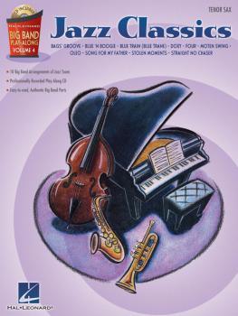 Jazz Classics - Tenor Sax: Big Band Play-Along Volume 4 (HL-00843095)