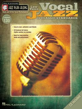 Vocal Jazz (Low Voice): Jazz Play-Along Volume 130 (HL-00843191)
