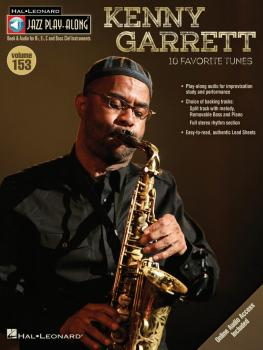 Kenny Garrett: Jazz Play-Along Volume 153 (HL-00843212)