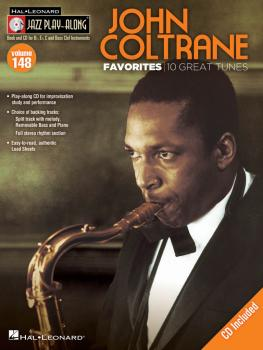 John Coltrane Favorites: Jazz Play-Along Volume 148 (HL-00843233)