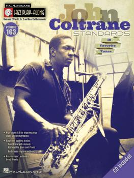 John Coltrane Standards: Jazz Play-Along Volume 163 (HL-00843235)