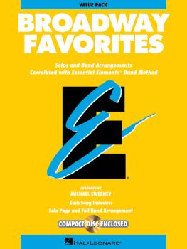 Essential Elements Broadway Favorites: Value Pack 37 Part Books with C (HL-00860054)