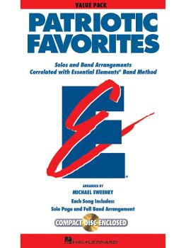 Patriotic Favorites: Value Pak 37 part books, conductor score & CD (HL-00860115)