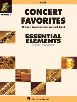 Concert Favorites Vol. 1 - Flute: Essential Elements 2000 Band Series (HL-00860119)
