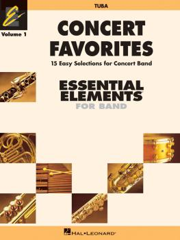 Concert Favorites Vol. 1 - Tuba: Essential Elements 2000 Band Series (HL-00860133)