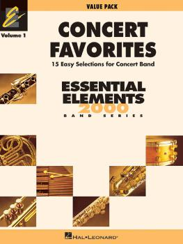 Concert Favorites Vol. 1 - Value Pak: Value Pack 37 Part Books with Co (HL-00860137)