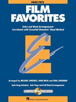 Film Favorites - Value Pak: Value Pack 37 Part Books with Conductor Sc (HL-00860159)