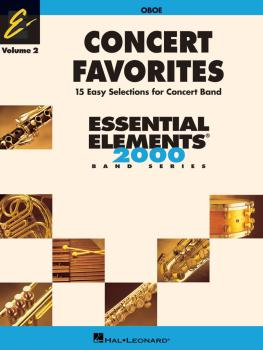 Concert Favorites Vol. 2 - Oboe: Essential Elements 2000 Band Series (HL-00860162)