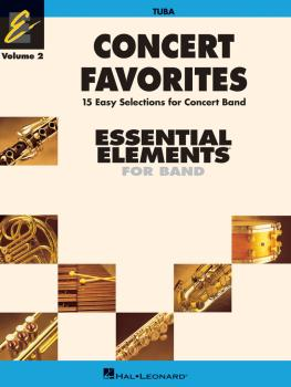Concert Favorites Vol. 2 - Tuba: Essential Elements 2000 Band Series (HL-00860175)