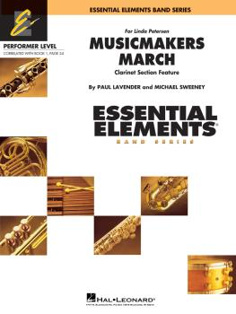 Musicmakers March: Includes Full Performance CD (HL-00860960)