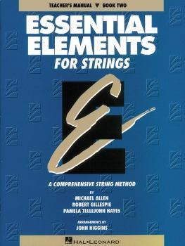 Essential Elements for Strings - Book 2 (Original Series) (Teacher Man (HL-00862554)