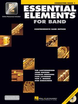 Essential Elements for Band - Conductor Book 1 with EEi (HL-00862565)