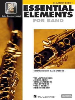 Essential Elements for Band - Bb Clarinet Book 1 with EEi (HL-00862569)