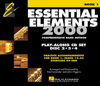 Essential Elements for Band - Book 1 Play-Along CD Set: Brass/Woodwind (HL-00862585)