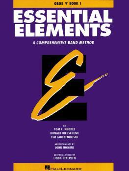 Essential Elements - Book 1 (Original Series) (Oboe) (HL-00863502)