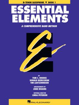 Essential Elements - Book 1 (Original Series) (Bb Tenor Saxophone) (HL-00863508)