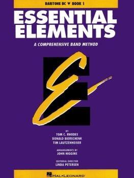 Essential Elements - Book 1 (Original Series) (Baritone B.C.) (HL-00863513)