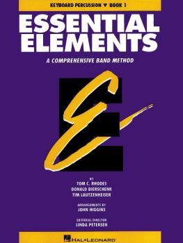 Essential Elements - Book 1 (Original Series) (Keyboard Percussion) (HL-00863517)