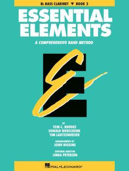 Essential Elements - Book 2 (Original Series) (Bb Bass Clarinet) (HL-00863524)