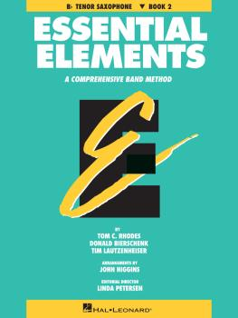 Essential Elements - Book 2 (Original Series) (Bb Tenor Saxophone) (HL-00863526)