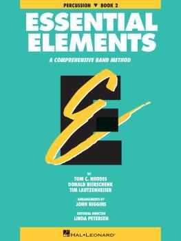Essential Elements - Book 2 (Original Series) (Percussion) (HL-00863534)