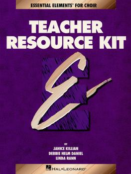 Essential Elements for Choir Teacher Resource Kit (Book with CD) (HL-00866120)