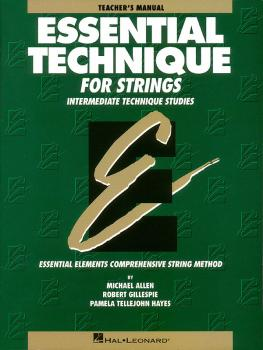 Essential Technique for Strings (Original Series) (Teacher Manual) (HL-00868003)