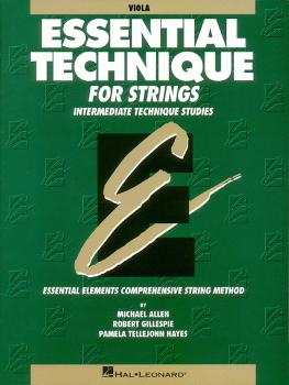 Essential Technique for Strings (Original Series) (Viola) (HL-00868005)