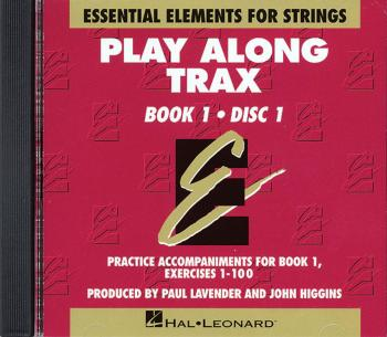 Essential Elements for Strings - Book 1 (Original Series): Play Along  (HL-00868008)