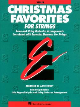 Essential Elements Christmas Favorites for Strings: Violin Book Parts  (HL-00868011)