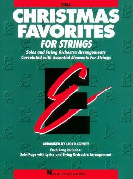 Essential Elements Christmas Favorites for Strings (Viola) (HL-00868012)