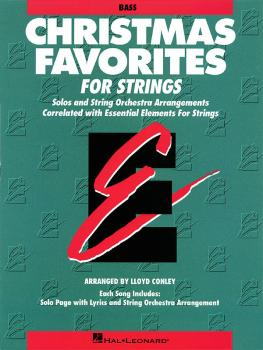 Essential Elements Christmas Favorites for Strings (String Bass) (HL-00868014)