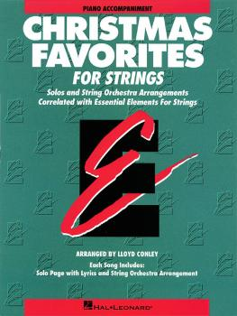 Essential Elements Christmas Favorites for Strings (Piano Accompanimen (HL-00868015)